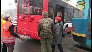 ДТП стало причиной огромной пробки в Одессе