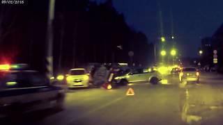 ДТП Щелкина - Новая. 9 февраля 2018