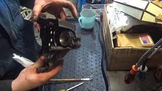 GSXR 1100 не дает зарядку. Ремонт генератора и цилиндра сцепления в придачу.