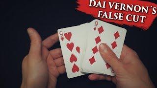 Обучение фокусам // Dai Vernon´s False Cut - Обучение | Бесплатное обучение фокусам!