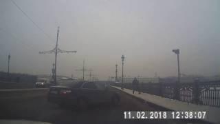 ДТП. 11.02.2018. СПб. Троицкий мост.