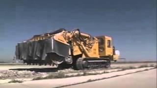 Машины мега монстры -  ломают режут и рушат все на своем пути