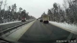 ДТП Горьковское шоссе 73 км. 2.02.18