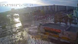 ДТП (авария г. Волжский) ул. Мира ул. 40 лет Победы 23-03-2018 17-05