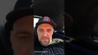 Репер Баста едет по Москве, трансляция от 20.03.2018