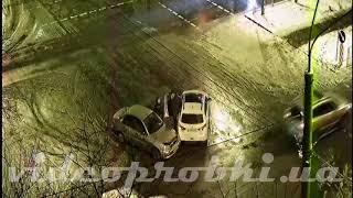 ДТП на Саратовской в Киеве