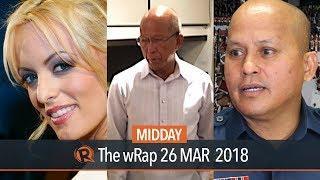 Lorenzana on frigates, Dela Rosa on PNPA mauling incident, Daniels on Trump | Midday wRap