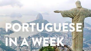 Portuguese in a Week: A Language Learning Documentary