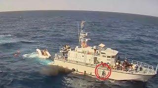 Incident dels guardacostes libis amb l'ONG 'Sea Watch' (6-11-2017)