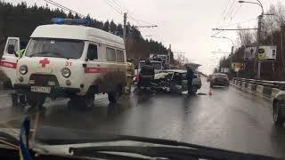 Жуткое ДТП на Майской горе, Ульяновск