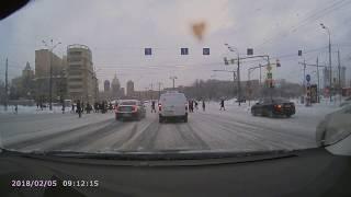 ДТП Москва ТЦ Европейский