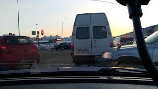 Кемерово, 14.02.2018, серьезная авария возле привоза