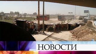 В сирийскую провинцию Идлиб из Восточной Гуты вывезено около пяти тысяч человек.
