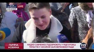Савченко: Я чувствую свою вину в том, что не могу остановить преступления парламента