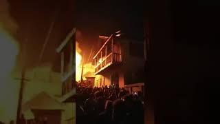 Live Fire Incident from Old Town Khawaja sab baramulla,