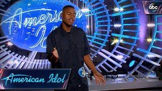 "Michael J. Woodard Auditions for Idol With ""Make It Rain"" by Ed Sheeran - American Idol 2018 on ABC"