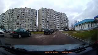 На парковке (ул. Луцкая, Брест, 03.02.2018)