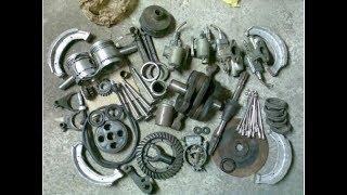 Почему новые запчасти для советской мототехники- полный ХЛАМ?(примеры некачественных деталей)