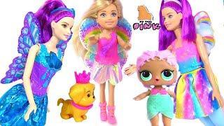 #Кукла ЛОЛ поздравляет с 8м Марта! Вечеринка! Барби Мультик на Русском! Игрушки с Май Тойс Пинк