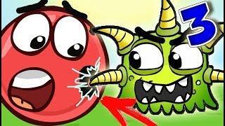 КРАСНЫЙ ШАР мультик игра Детский летсплей, игровой мультфильм для детей #13