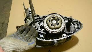 Разбираем и рассматриваем конструкцию двигателя мотоцикла Минск М1М 1966 г.в.