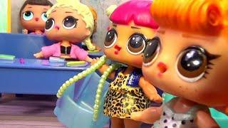 Куклы ЛОЛ ТВОРЧЕСКИЕ ЗАНЯТИЯ LOL Surprise #Игрушки #Сюрпризы Мультики про школу Вероничка Лалалупси