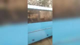 Авария с автобусом на Пятницком шоссе