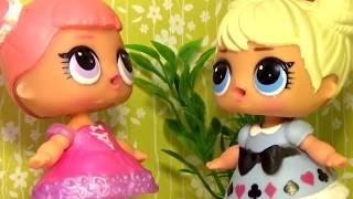 Куклы ЛОЛ ХИТРАЯ ДЕВОЧКА LOL Surprise #Игрушки #Сюрпризы мультики для детей