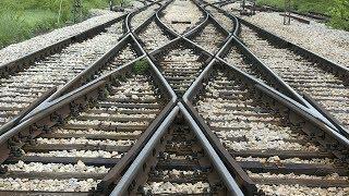 Необычные железнодорожные перекрестки и стрелочные переводы