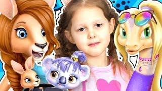ПАРИКМАХЕРСКАЯ Салон красоты для животных Летсплей Animal Hair Salon Игры на планшете LetsPlay