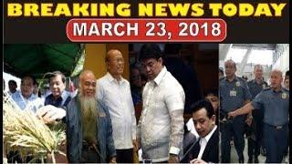 BREAKING NEWS TODAY MARCH 23, 2018  PRES. DUTERTE | DELA ROSA | SEN KOKO PIMENTEL |  FR. SUGANOB