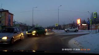 Опасный перекрёсток. ДТП 02.02.2018 Верхняя Салда