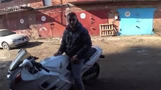 CBR 1000 ЗАВОДИТСЯ  CBR 1000 F2 startup  Финал