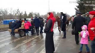 Лошади, ослики, цигане на Наурыз 2018.02.22 в Павлодаре.