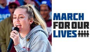 Miley Cyrus - The Climb (Live at March For Our Lives 2018)