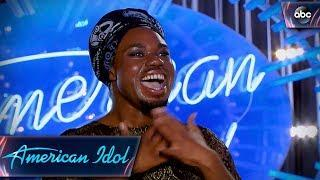 Tory N. Teasley Auditions With Wild Cee Lo Green Song - American Idol 2018 on ABC