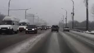 ДТП Ульяновск Человек вылетом из машины!