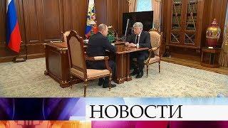 Владимир Путин принял в Кремле нового посла РФ в Казахстане Алексея Бородавкина.