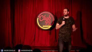 Andrei Ciobanu -  Despre mărimea p***i (stand-up comedy @Club 99)
