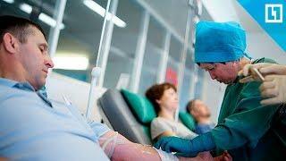 Очереди на сдачу крови в Кемерове