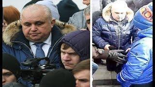 Вице-губернатор Кемеровской области на коленях попросил прощения