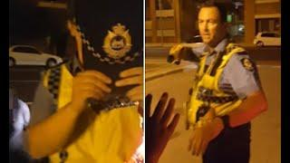 World News - Fremantle police try to stop filming, refuse to give badge numbers