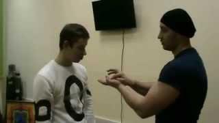 Мгновенный гипноз. Обучение гипнозу. Паук на руке. Курсы гипноза. Иса Багиров