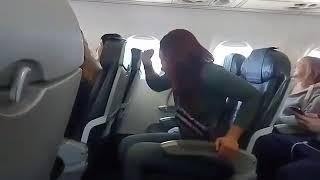 Поздравления в самолете