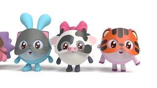 Малышарики - Новые серии - Мяу? Гав! (65 серия) Как говорят животные