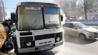 Во Владимире горит автобус МЧС: без комментариев