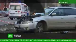 ДТП со скорой: водитель Subaru бросил в разбитой машине раненую спутницу