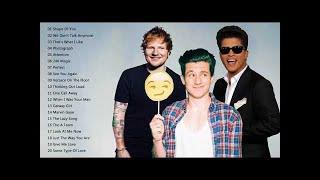 Bruno Mars, Ed Sheeran, Charlie Puth Greatest Hits - Best Pop Music Mix New Songs 2018