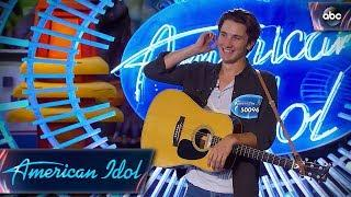 Drake Milligan Auditions for American Idol With George Strait Tune - American Idol 2018 on ABC