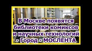 В Москве появятся библиотеки комиксов и научных технологий - Город - МОСЛЕНТА